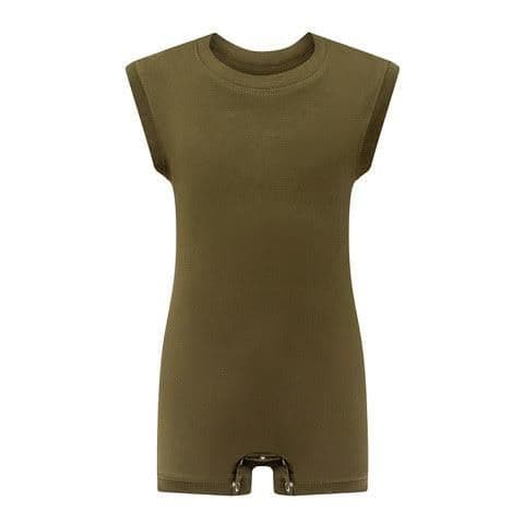 KayCey Super Soft Body Suit - Sleeveless - KHAKI from