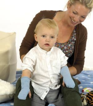 Seamless Open Mittens - Skinnies Viscose Child - from