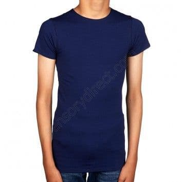 Sensory Hug Shirt - Navy - Short Sleeve - Light compression.