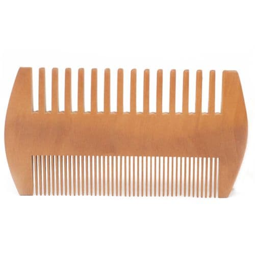 Two Sided Wooden Comb