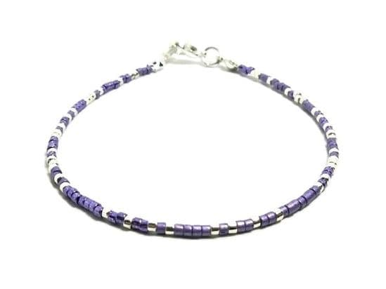 Dainty Seed Bead Anklets