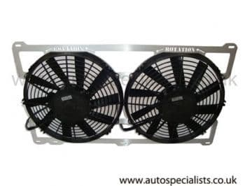 """AIRTEC Cosworth Twin 11""""  Fans"""