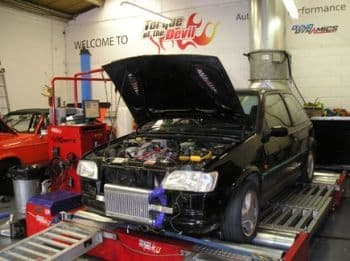 AIRTEC Stage 1 50mm Core Single Pass Intercooler Upgrade for Fiesta RS Turbo