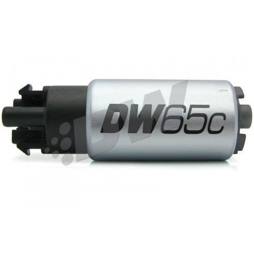 DW DW65C series 265lph compact fuel pump w/ mounting clips