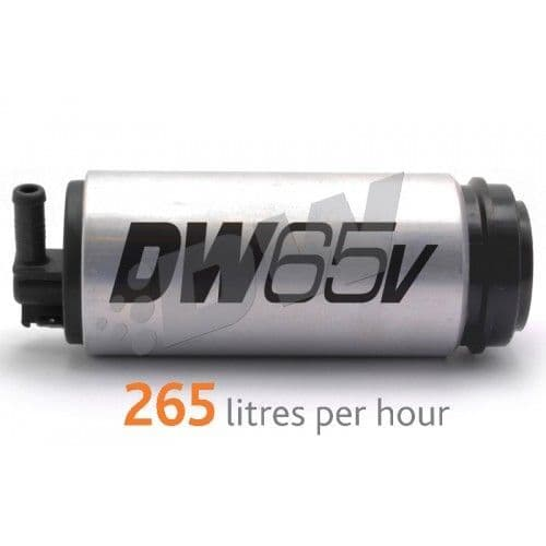 DW65v series, 265lph in-tank fuel pump w/ install kit for VW and Audi 1.8t FWD