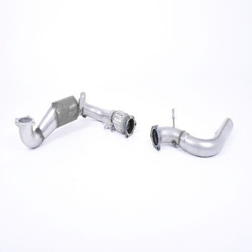 Large Bore Downpipe and Hi-Flow Sports Cat. - Milltek fitment