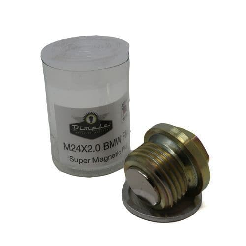 M24 x 2.0 x 14mm Magnetic Oil Sump Drain Plug