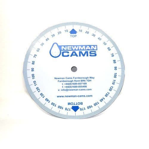 Newman Cams Camshaft Timing Disc For Perfect Cam Timing