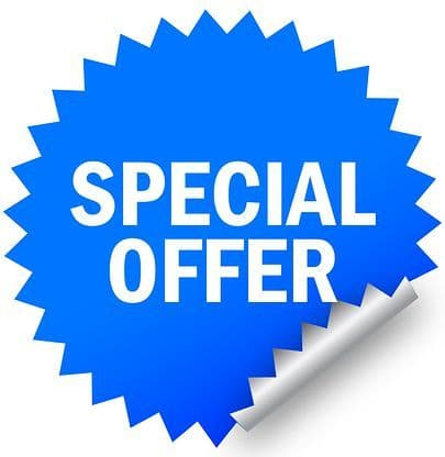 Special Offer / Clearance