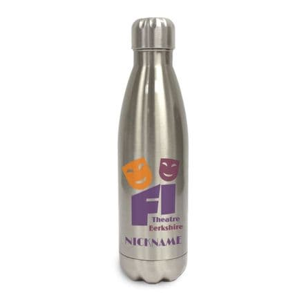 First Impressions Theatre Stainless Steel Insulated Water Bottle