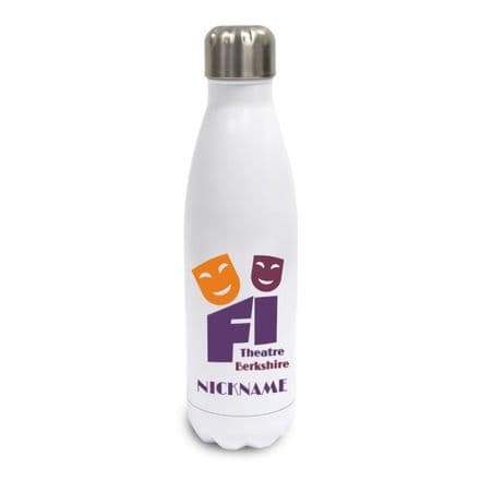 First Impressions Theatre White Insulated Water Bottle