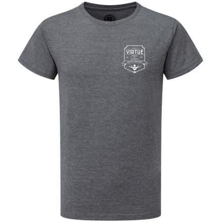 Kids Grey Marl HD T-Shirt with Gymnast