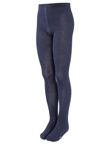 Navy Cotton Rich Tights (2 pack)