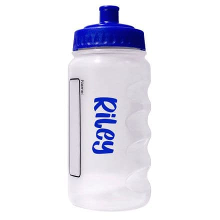 Royal Blue Water Sports Bottle with Printed Name - 500ml