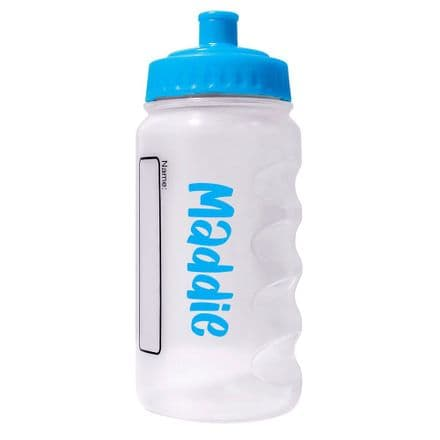 Surf Blue Water Sports Bottle with Printed Name - 500ml