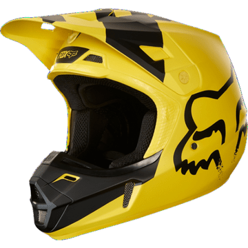 2018 Fox V2 Mastar Helmet - Yellow
