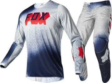 2020 Fox 180 BNKZ SE Kit Motocross Kit Combo - Grey