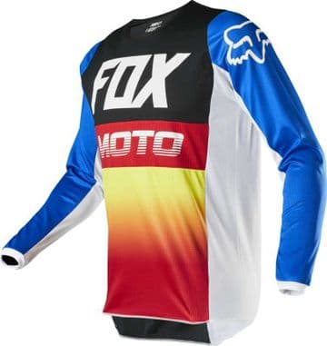 2020 Fox 180 Fyce Motocross Jersey - Blue/Red