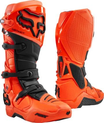 2020 Fox Instinct Motocross Boots - Flo Orange