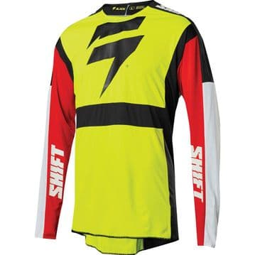 2020 Shift 3lack Label Race Jersey - Race 2 Flo Yellow