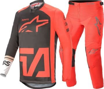 2021 Alpinestars Youth Compass Motocross Kit - Red