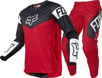 2021 Fox 180 Revn Motocross Kit Combo - Red