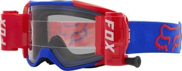 2021 Fox Vue Stray Roll Off Goggles - Blue