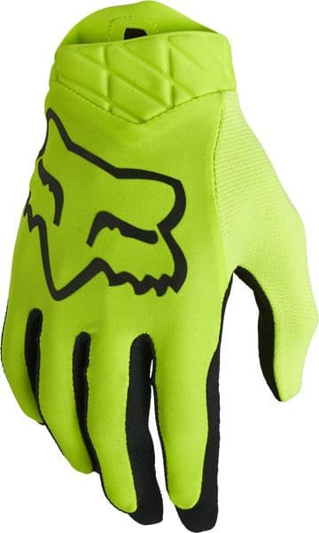 2022 Fox Airline Gloves - Flo Yellow