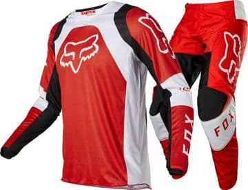 2022 Fox Youth  Lux Motocross Kit Combo - Red
