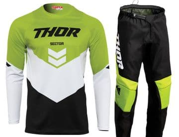 2022 Thor Youth Sector Chev Kit Combo - Green