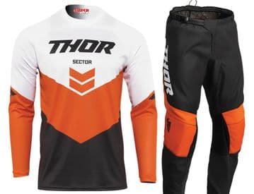 2022 Thor Youth Sector Chev Kit Combo -Orange