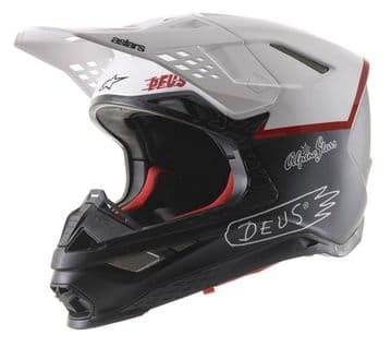 Alpinestars S-M8 Supertech Limited Edition Deus Motocross Helmet