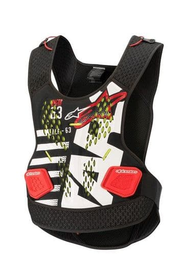 Alpinestars Sequence Body Protector - Red