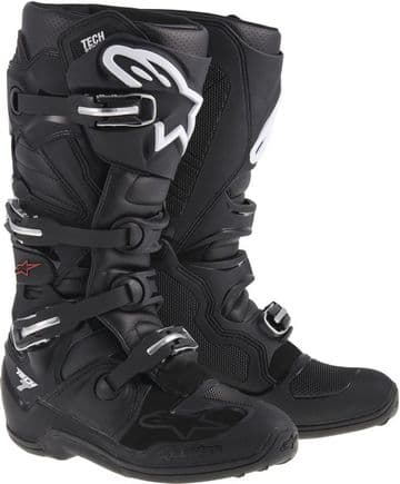 Alpinestars Tech 7 Motocross Boot - Black