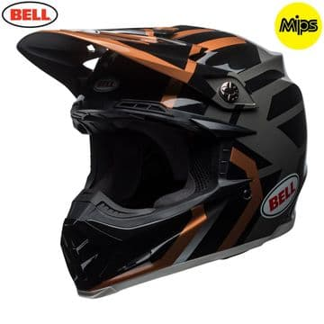 Bell Moto 9 MIPS District MX Helmet - Copper