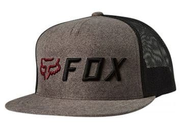 Fox Racing Apex Snapback Hat - Grey/ Orange