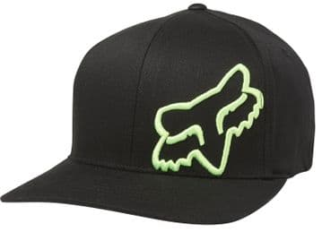 Fox Racing Flex 45 Flexfit Hat - Black/ Green