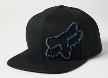 Fox Racing Headers Snapback - Black/ Blue