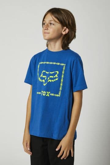 Fox Youth Timed Out SS Tee - Blue