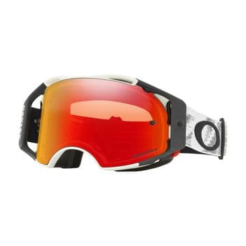 Oakley Airbrake Matte White Speed MX Goggle - with Przm Torch Lens