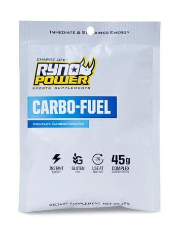 Ryno Power CARBO-FUEL Stimulant-Free Pre-Workout Drink Mix | Single Serving