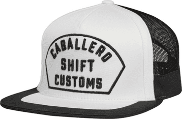 Shift Caballero X Lab Snap Back Hat - Black