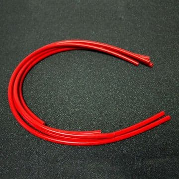 Silicone Carb Hose Kit 5 Pieces - Red