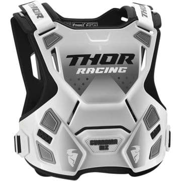 Thor Guardian MX Adult Chest Protector - White