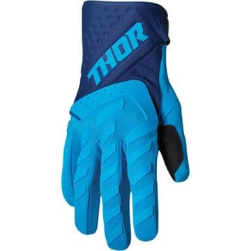 Thor Spectrum Youth Gloves - Blue