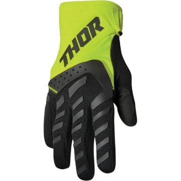 Thor Spectrum Youth Gloves - Flo Yellow