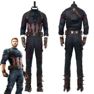 Costume complet Cosplay Captain America