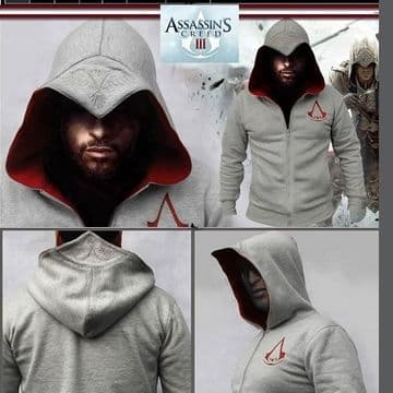Sweatshirt Assassins Creed Molletonne Capuche officiel