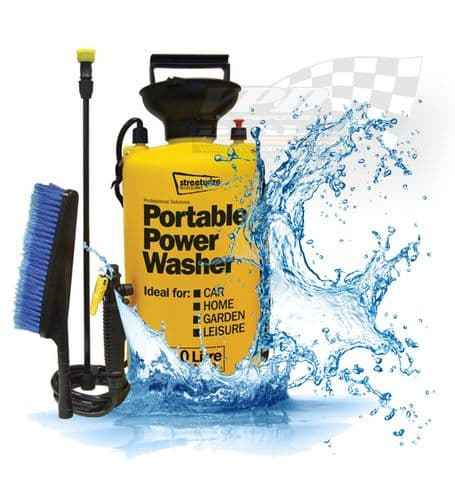 Portable hand pump pressure washer 8ltr or 10ltr